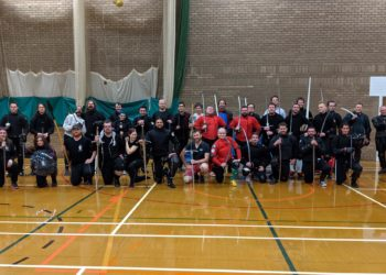 Academy of Historical Fencing, Sparring Day April 2019