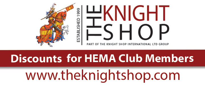 The Knight Shop, Discounts for HEMA Club Members.