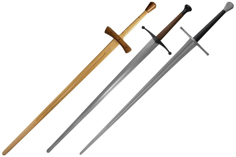 Wood, Synthetic and Steel Longswords