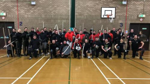 Academy of Historical Fencing - Winter 2018